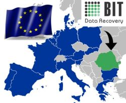 Bit data recovery european map